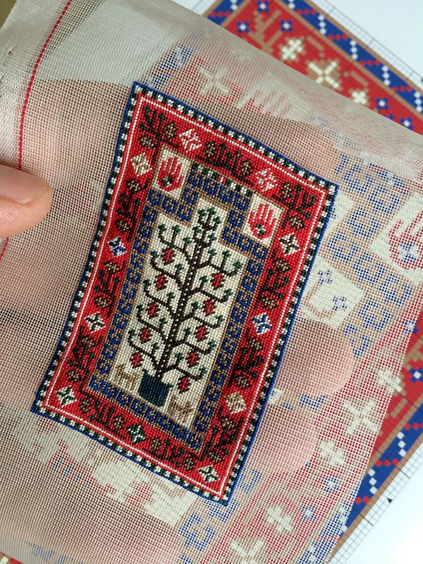 Baluchi miniature rug
