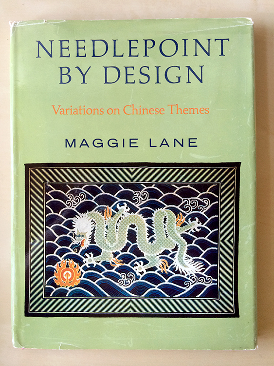 """…a modern breakthrough book in the technique of the ancient, joyful, and beautiful craft of needlepoint."" from the 1970 foreword by Clare Booth Luce"