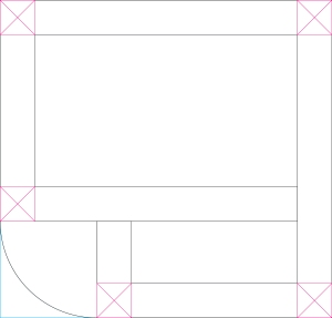 Deck extension plan (not to code)