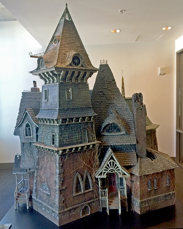 Count Olaf's house movie prop, built at ILM